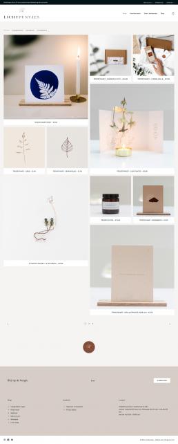 Shop - Lichtpuntjes Wingerien.com